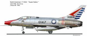 F-100A Taiwan