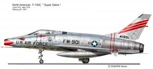 F-100C 22