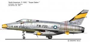 F-100C 45
