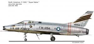 F-100C 461