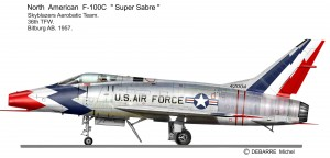 F-100C Sky