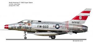 F-100D 1stFDS