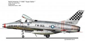 F-100D 401