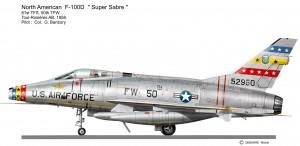 F-100D 50th
