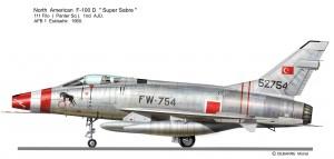 F-100D 754