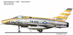 F-100D 822