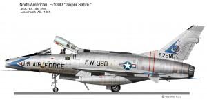 F-100D 980