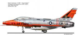 F-100F ARDC