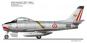 F 86 SABRE   180  Perou