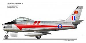 F 86 SABRE  427Sq CAN
