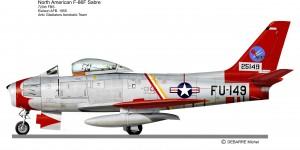 F 86 SABRE   Artic gladiator 2
