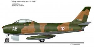 F 86 SABRE   tunisie
