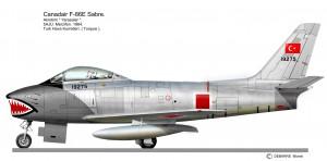 F 86E Yarasalar 3
