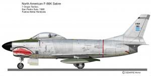 F-86K base Honduras 2