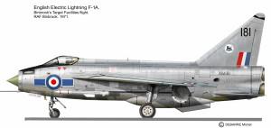 Lightning F-1A Binbrook