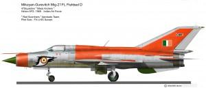 MIG-21 FL Scochers