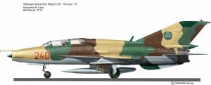MIG-21UM MOZA