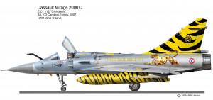MIR 2000C  12-YB Tigre noir.2
