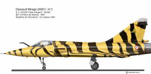 MIR 2000C tigre 87