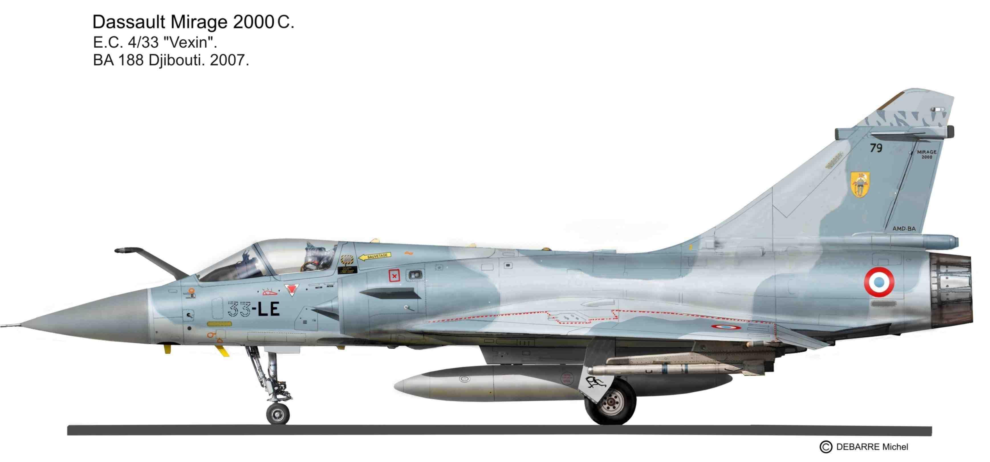 Mirage 2000 Mir-2000c.-vexin