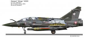 MIR 2000D 60ans Ardennes