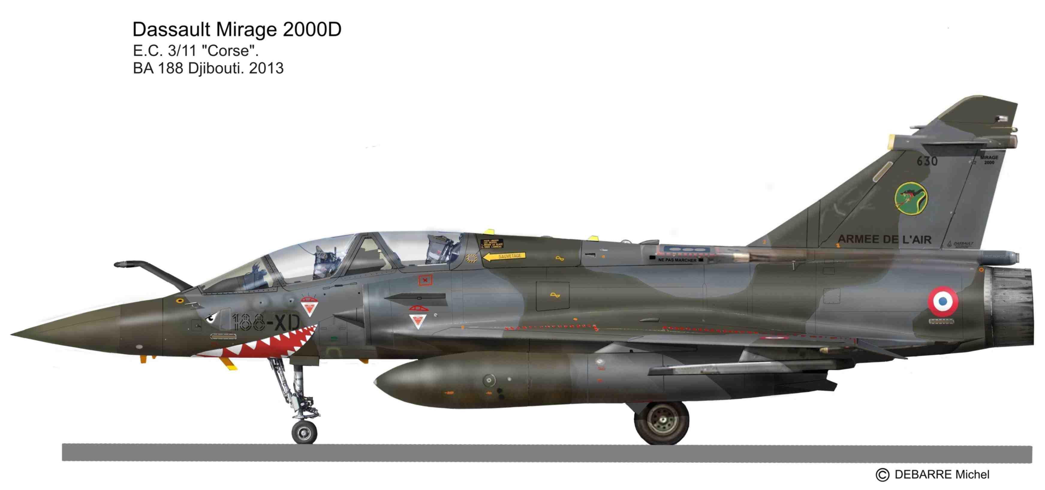 Mirage 2000D   Miprofiles