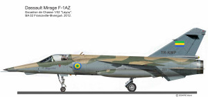 MIR F-1AZ  Gabon