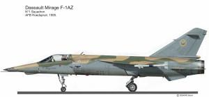 MIR F-1AZ  SAAF