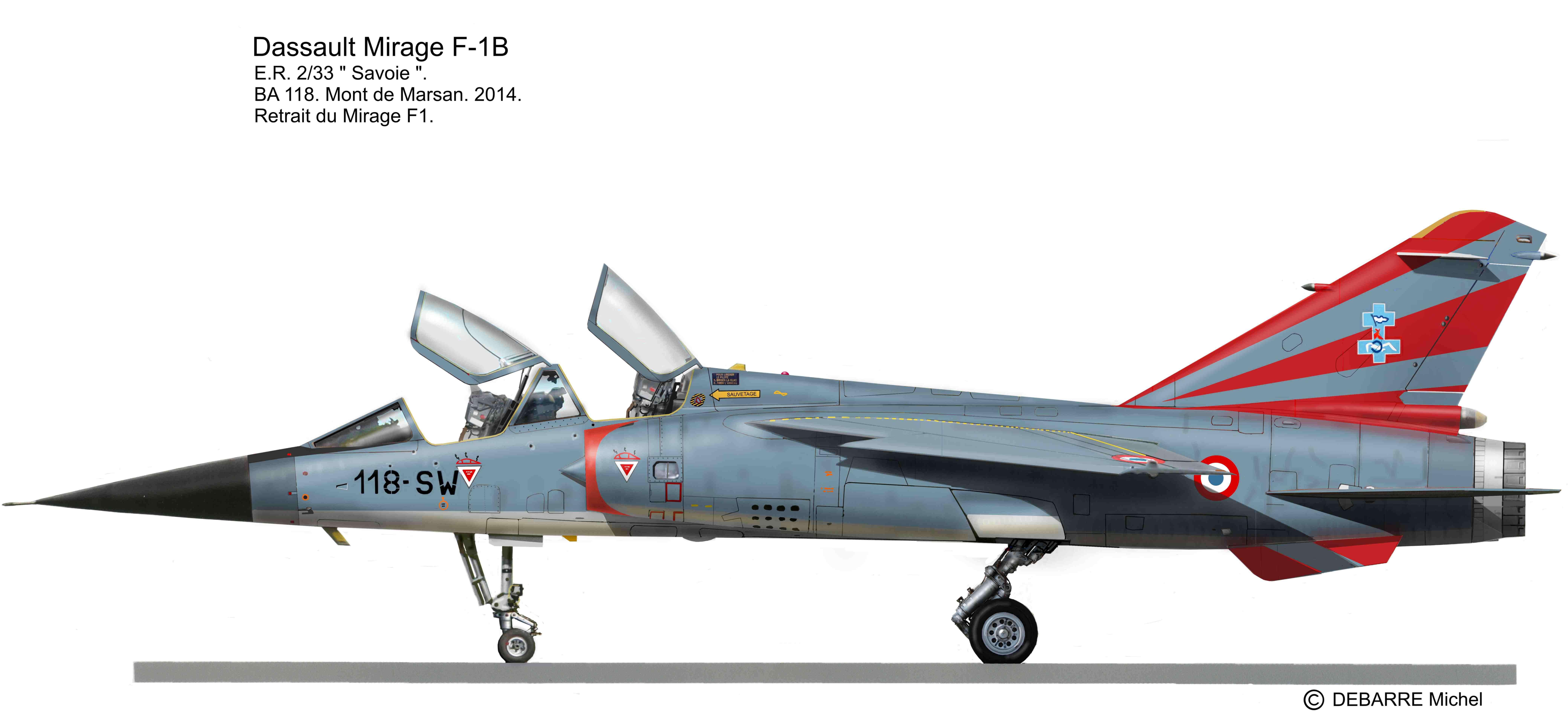 Miprofiles Mirage F1