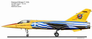 MIR F-1CG jaune