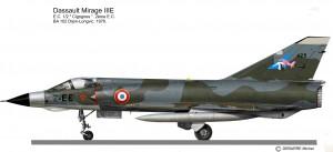 MIRAGE III E  2-EE