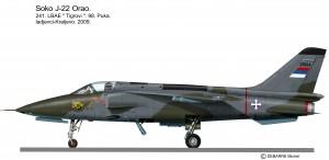 Soko J-22 Orao 241 LBAE