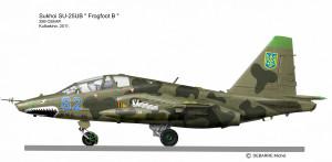 SU-25UB  Ukraine 2