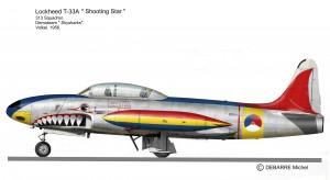T-33A  Skysharks. 2