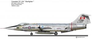 CF-104  427sq Jever 68