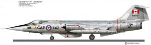 CF-104  439sq Tiger Meet 72 3