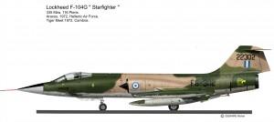F-104 grec