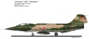 F-104G   SLIVERS 2