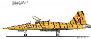 F-5E Suisse Tigré