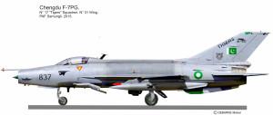F-7PG Tigers 1