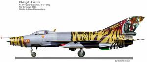 F-7PG Tigers  2005
