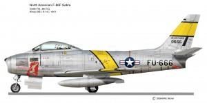 F 86 SABRE   4th FIG