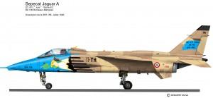 Jaguar A Jura disso SPA 158