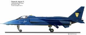 JaguarA bleu