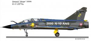 MIR 2000N   4-AA  bleu