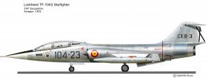 TF-104G Espagne