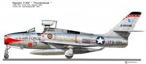 F-84F 110F