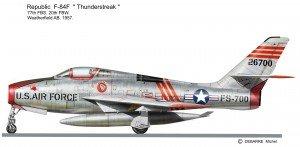 F-84F 700