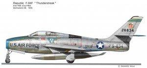 F-84F 91F