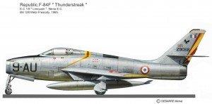 F-84F AU